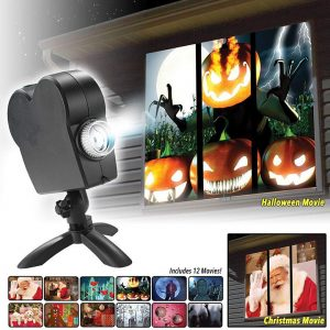 Halloween Party Projector Lamp Laser Stage Lamp Spotlights