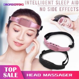 Electric Head Massager Sleep Monitor Migraine Relief Massager Insomnia Therapy Release Stress Sleep Therapy Device Sleeping Di