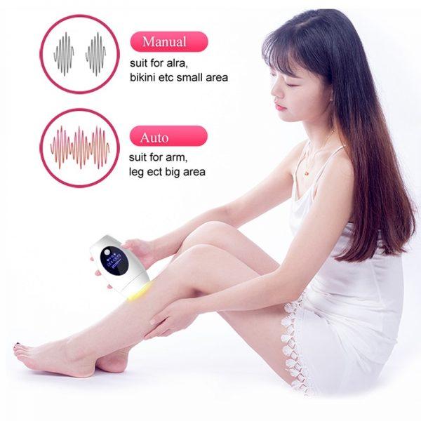IPL body laser hair removal women painless cream epilator professional Bikini hair removal Replaceable lamp Laser Depilatory