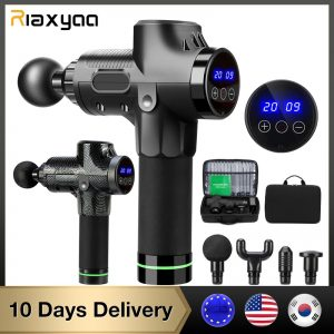 High frequency Massage gun muscle relax body relaxation Electric massager with portable bag for fitness Phoenix A2
